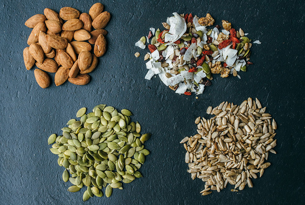 Organic Sprouted Nuts and Seeds