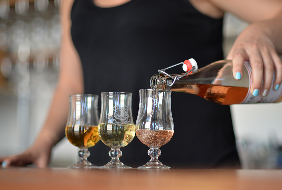 Sea Cider Organic Cider