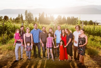 Summer Hill Pyramid Winery Family Portrait